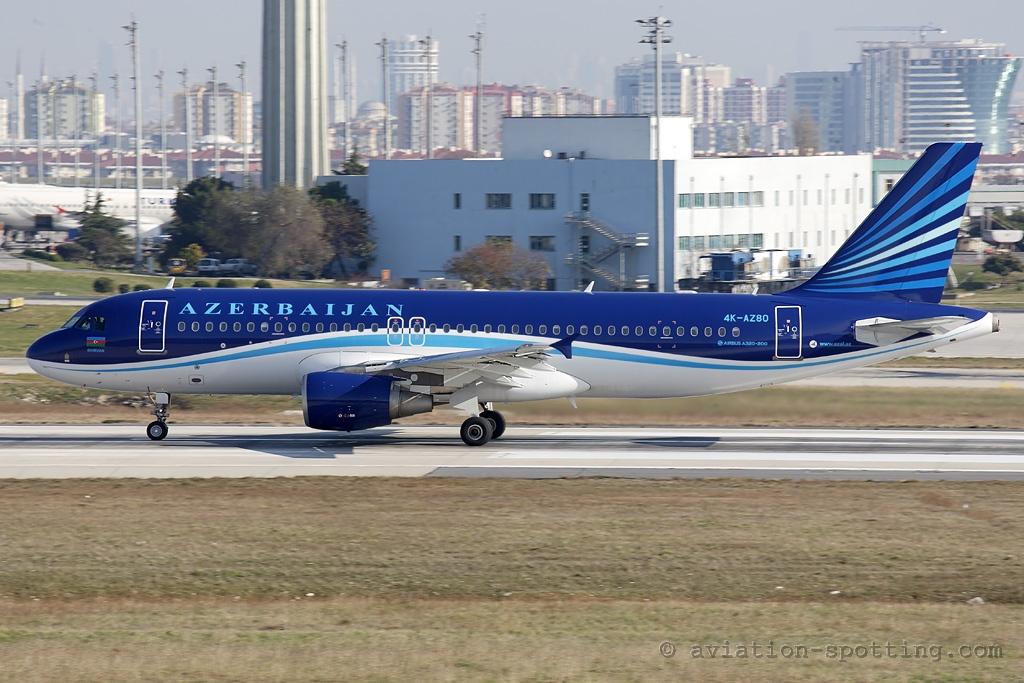 Azerbaijan Airlines Airbus A320