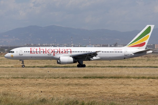 Ethiopian Airlines Boeing B757-200
