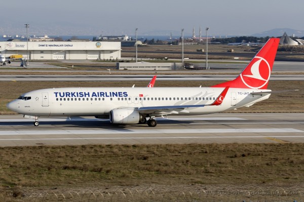 Turkish Airlines Boeing B737-800 new colours
