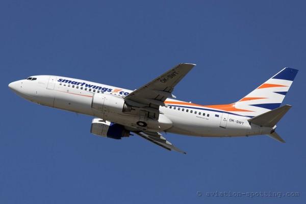 Smart Wings Boeing B737-700 (Czech Republic)