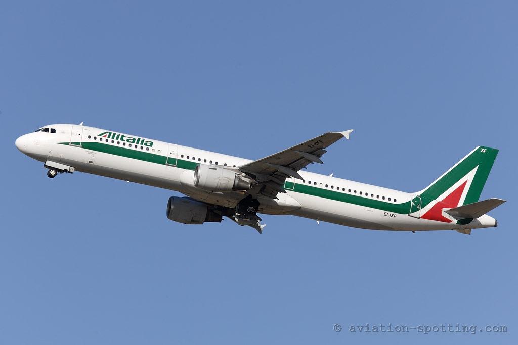 Alitalia Airbus A321 (Italy)