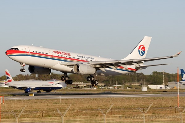 China Eastern Airbus 330-200