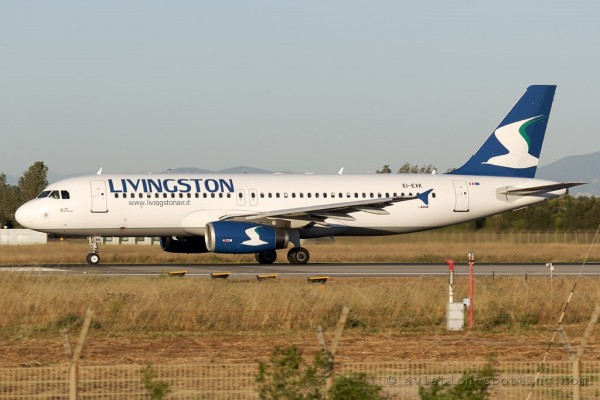 Livingston Compagna Aera Airbus 320 (Italy)