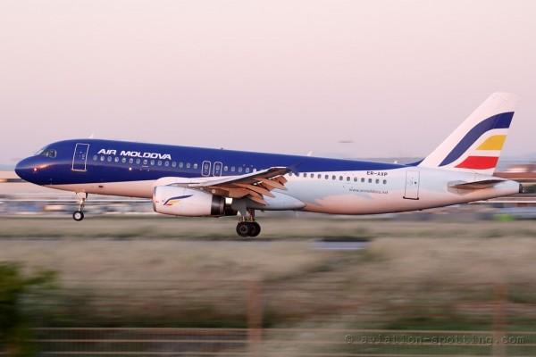 Air Moldova Airbus 320