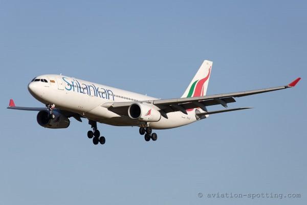 SriLankan Airlines Airbus 330-200