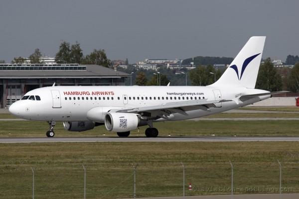 Hamburg Airways Airbus 319 (Germany)