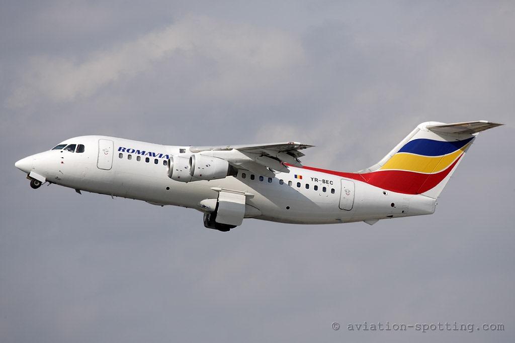 Romavia BAe146-200 (Romania)