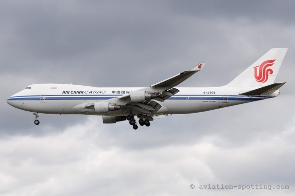 Air China Cargo Boeing B747-400 F