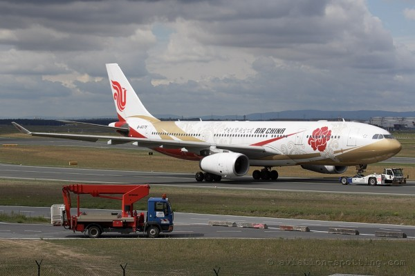 Air China Airbus 330-200 special colours