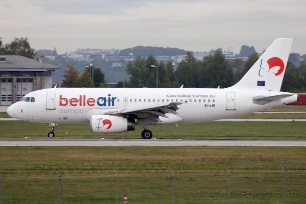 Belleair Airbus 319 (Albania)