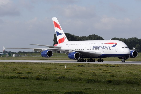 British Airways Airbus 380