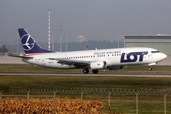LOT Polish Airlines Boeing B737-400 (Poland)