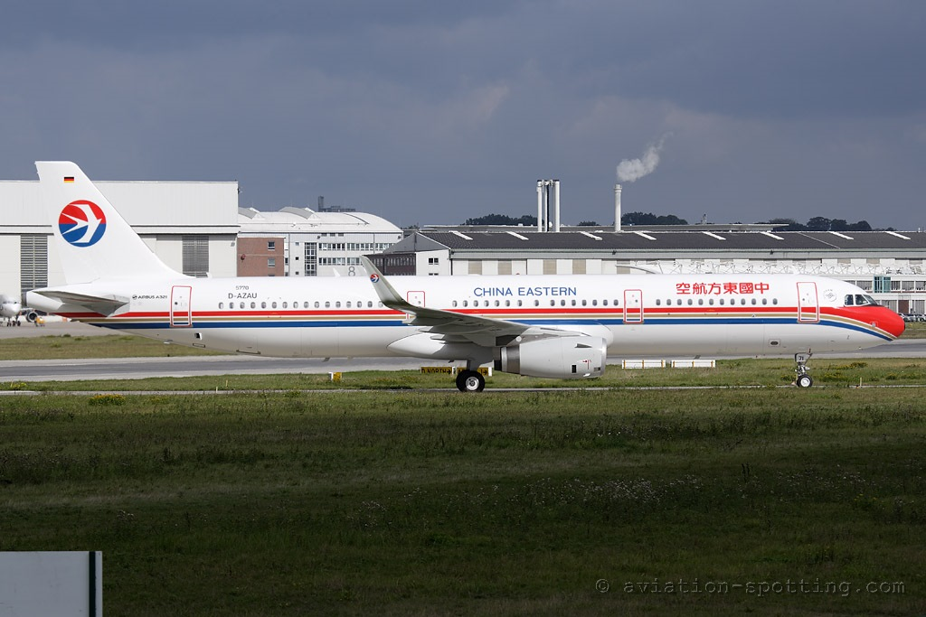 China Eastern Airbus A321 (China)