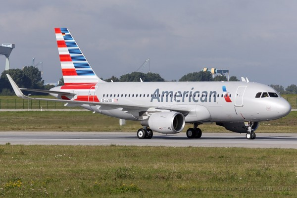 American Airlines Airbus 319