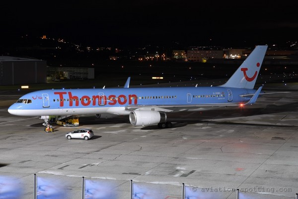 Thomson Airways Boeing B757-200 (UK)