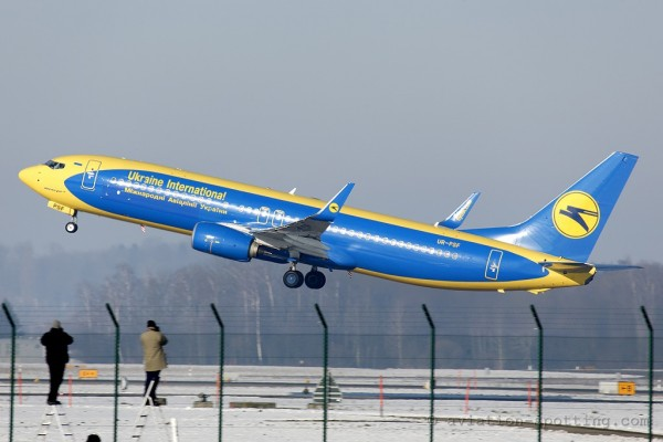 Ukraine International Airlines Boeing B737-800 Aerosvit hybrid colours (Ukraine)