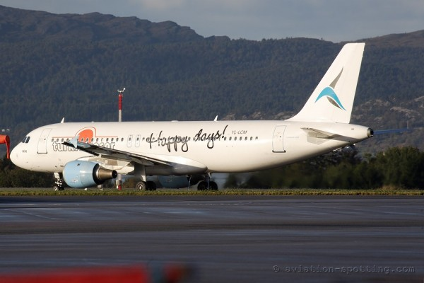 Tailwind Airlines (SmartLynx) Airbus 320 Turkie Tresor colours (Turkey)