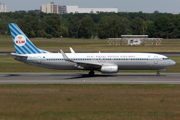 KLM Boeing B737-800 Retro colours(Netherlands)