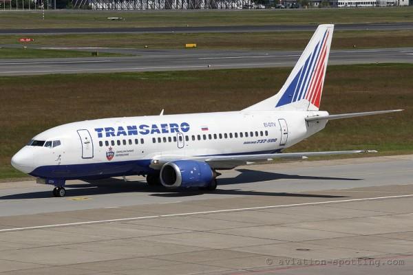 Transaero Airlines Boeing B737-500 (Russia)