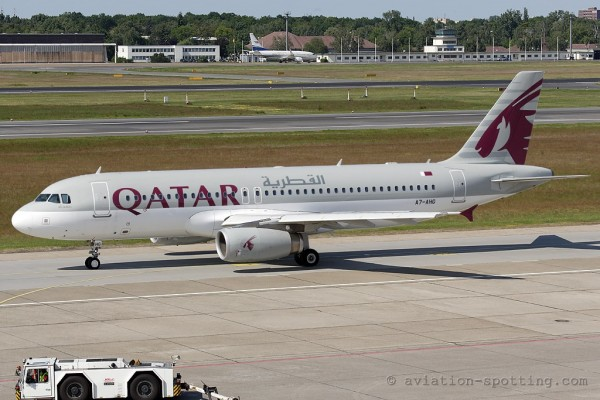 Qatar Airways Airbus 320