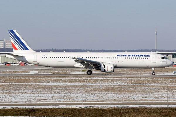 Air France Airbus 321