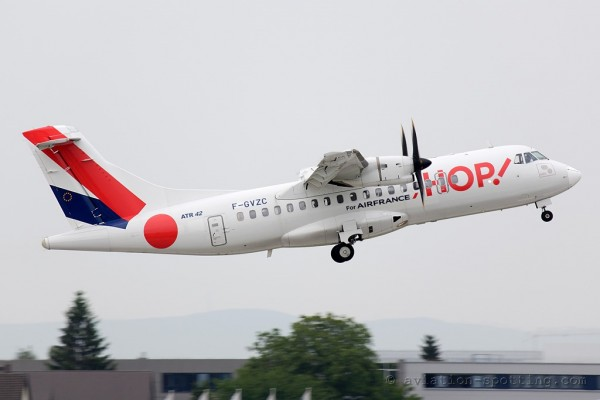 HOP! for Air France Aerospatiale ATR42