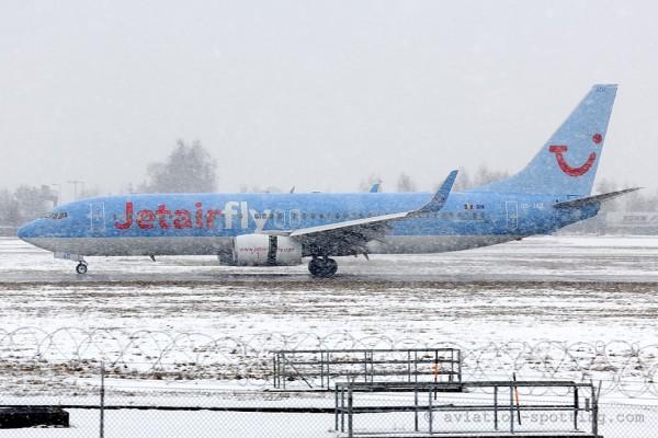 Jetairfly Boeing B737-800 (Belgium)