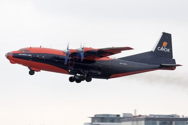 Cavok Air Antonov 12 (Ukraine)