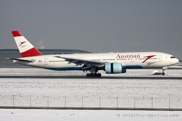 Austrian Airlines Boeing B777-200