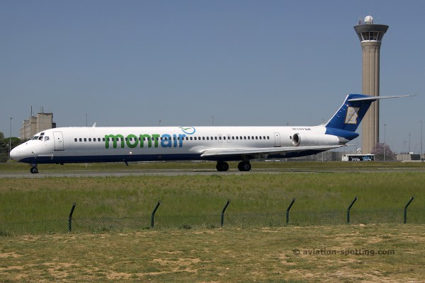 Dubrovnik Airline McDonnel Douglas MD 82 (Croatia)