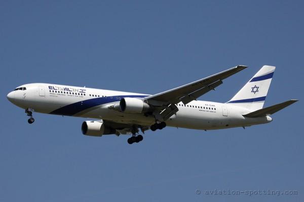 El Al Israel Airlines Boeing B767-300