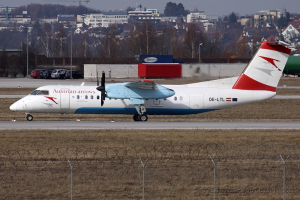 Austrian Arrows De Havilland Canada Dash 8-Q 300