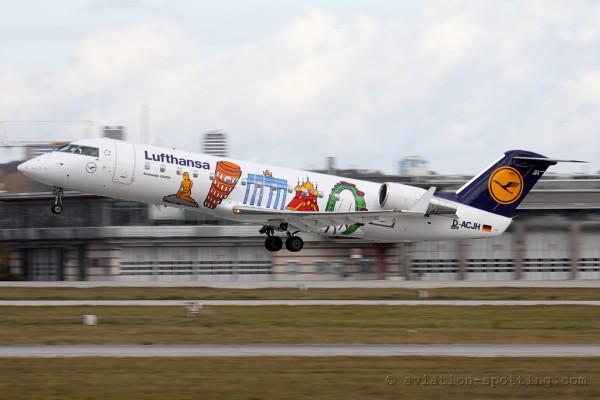 Lufthansa Regional (CityLine) Canadair CRJ 100/200 (Germany)