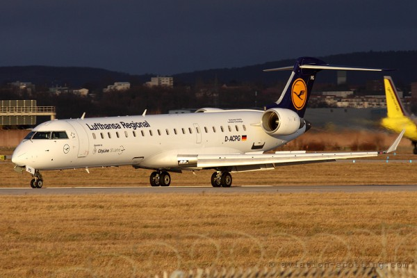 Lufthansa Regional (CityLine) Canadair CRJ 700 (Germany)