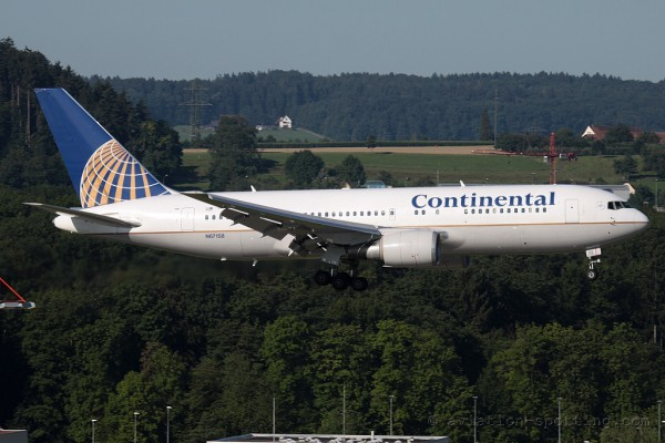 Continental Airlines Boeing B767-200 (USA)