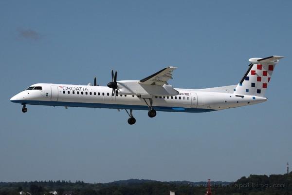 Croatia Airlines Bombardier Dash 8-Q 400
