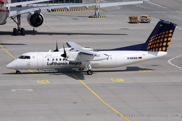 Lufthansa Regional (Augsburg Airways) De Havilland Canada Dash 8-Q 300 (Germany)