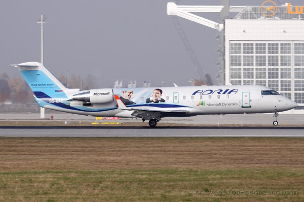 Adria Airways Canadair CRJ 100/200 (Slovenia)