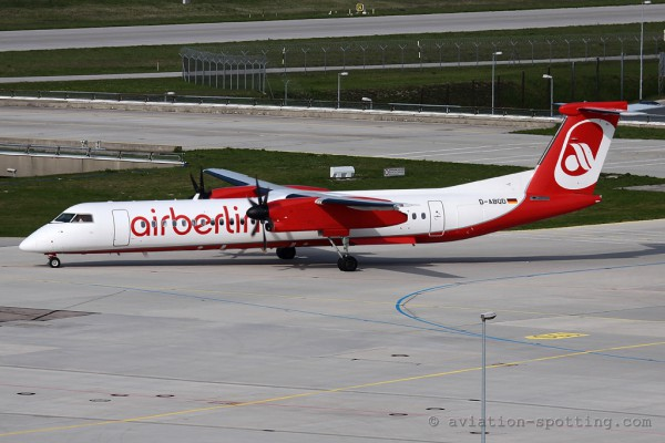Air Berlin Bombardier Dash 8-Q 400 (Germany)