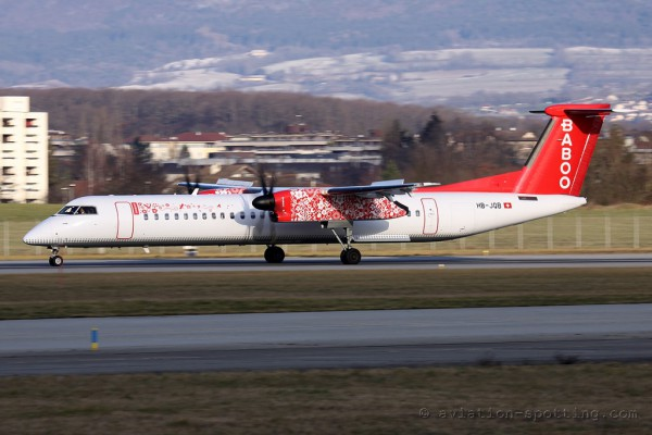 Baboo Bombardier Dash 8-Q 400 (Switzerland)