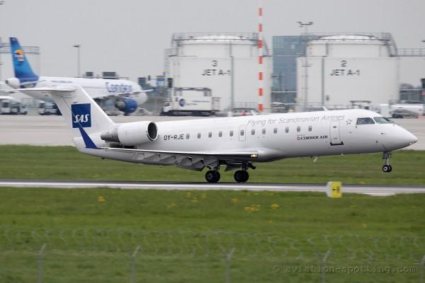 SAS (Cimber A/S) Canadair CRJ 100/200 (Denmark)