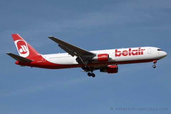 Air Berlin (Belair) Boeing B767-300 (Switzerland)