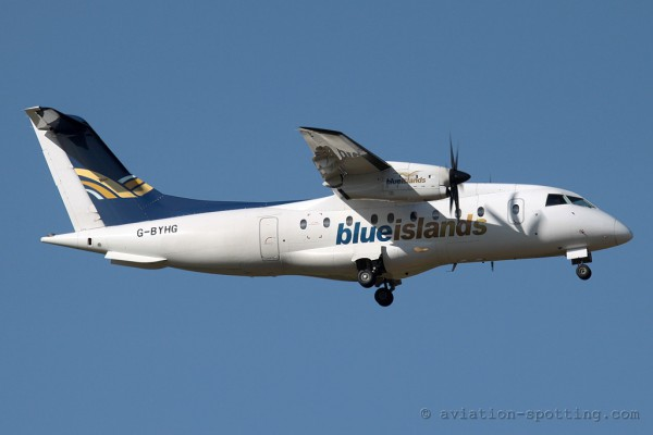 Blue Islands Dornier DO 328 (Guernsey/UK)