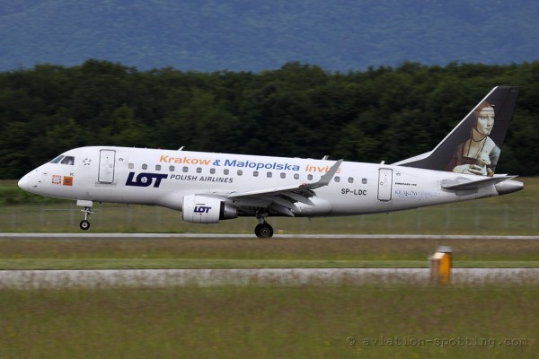 LOT Polish Airlines Embraer E170 (Poland)