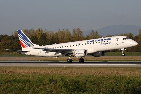 Air France Regional Embraer E190