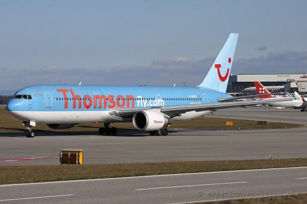 Thomson Airways Boeing B767-300 (UK)