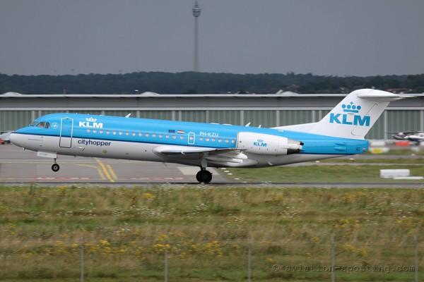 KLM Cityhopper Fokker F70 (Netherlands)