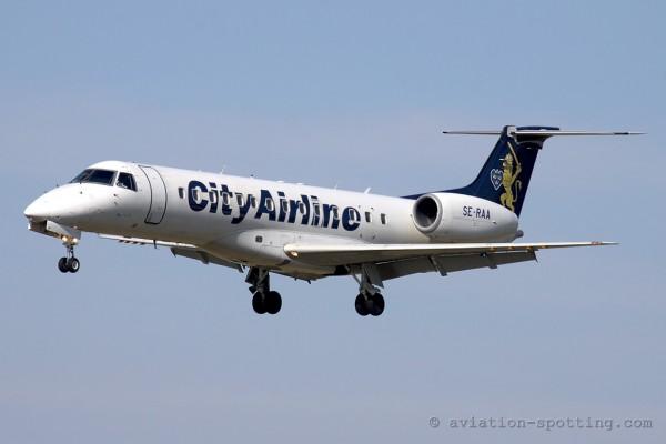City Airline Embraer ERJ135 (Sweden)