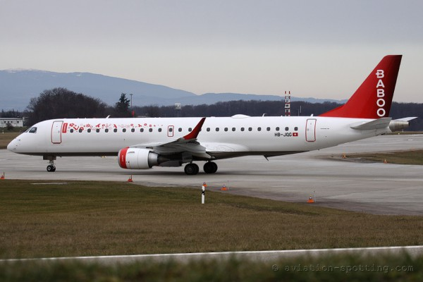 Baboo Embraer E190 (Switzerland)