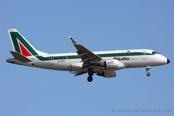Alitalia Express Embraer E170 (Italy)